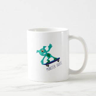 Monster Skate Basic White Mug