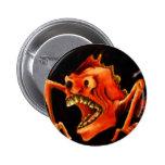 monster teeth buttons