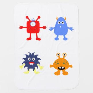 Monster Themed Baby Blanket