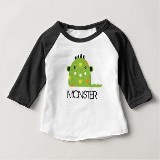 Monster Toddler - Matching Daddy & Me Baby T-Shirt