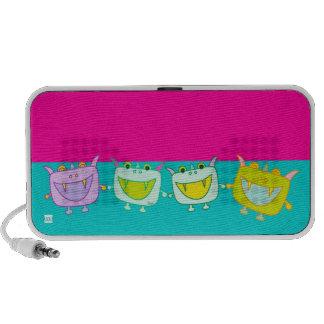 Monster Tofu Dancing Doodle Mini Speakers