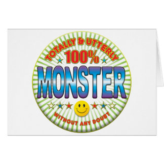 Monster Totally Greeting Cards
