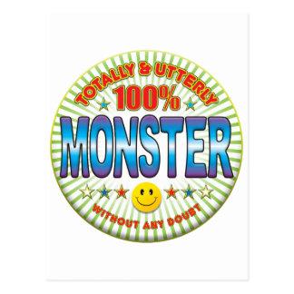Monster Totally Postcard