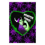 Monster Tough Customized Stationery