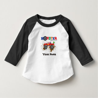 Monster Truck  Birthday Boy T-shirt