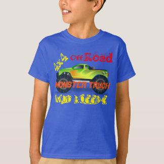 Monster truck design tee shirt