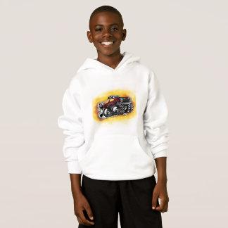 Monster Truck Hoodie for Boys