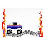 Monster Truck Invitations - Vroom