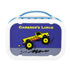 Monster Truck Lovers Personalised Boys Lunch Box