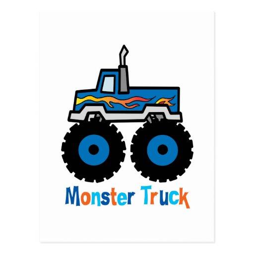 Monster Truck Postcards