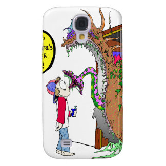 Monster Under the Bed Galaxy S4 Case
