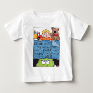 Monster Under The Bed Infant Short Sleeve T-Shirt