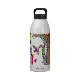Monster Under the Bed Water Bottle