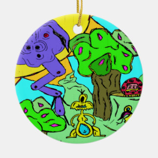 Monster Valley Ornament