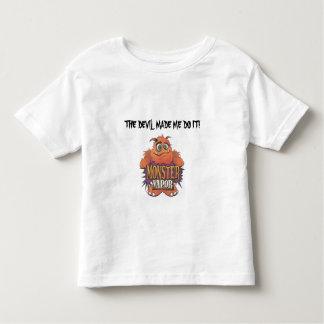 monster vapor, THE DEVIL MADE ME DO IT! Toddler T-Shirt