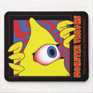 MONSTER VISIONS MOUSE PADS