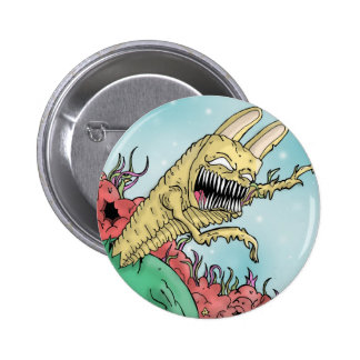 Monster With IN 6 Cm Round Badge