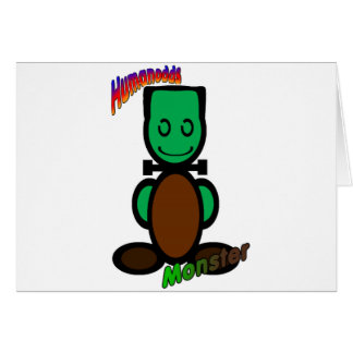 Monster (with logos) card