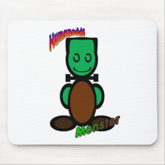 Monster (with logos) mouse mat