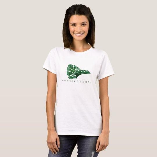 Monstera Deliciosa - Swiss Cheese Plant T-Shirt