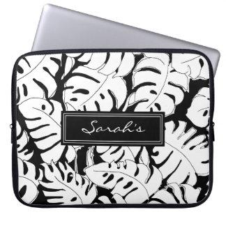 Monstera Personalised Laptop Sleeve