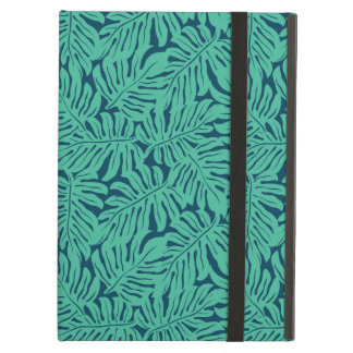 Monstera Tropical Leaf Pattern iPad Air Cover