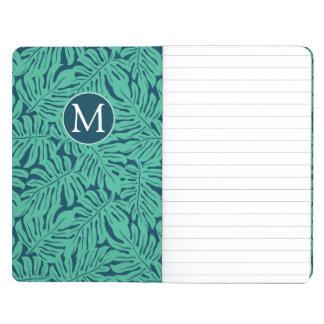 Monstera Tropical Leaf Pattern | Monogram Journal