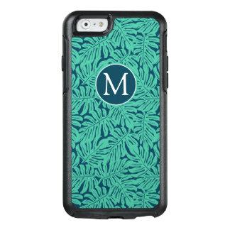 Monstera Tropical Leaf Pattern | Monogram OtterBox iPhone 6/6s Case