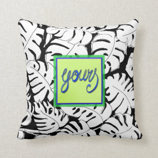 Monstera Yours Cushion