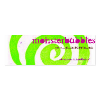 monsterbubbles business card
