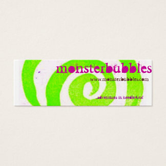 monsterbubbles mini business card