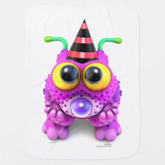 Monsterlings - Poof Gots Nones Pramblankets