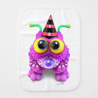 Monsterlings - Poofs Gots None Burp Cloth