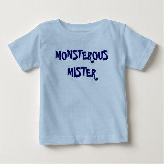 Monsterous Mister Baby T-Shirt