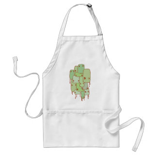 Monsters Adult Apron