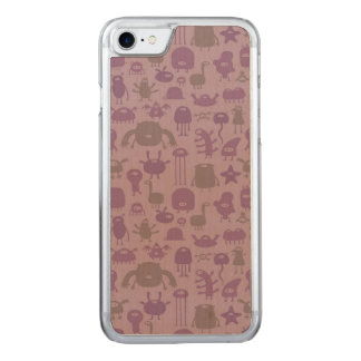Monsters and Aliens Carved iPhone 8/7 Case