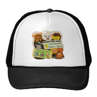 Monsters and Ghouls Mesh Hats