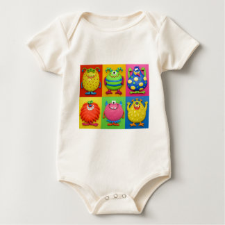 Monsters Baby Bodysuit