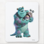 Monsters Inc Sulley holding Boo in costume in arms Mouse Pads