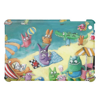 Monsters on the Beach iPad Mini Cases