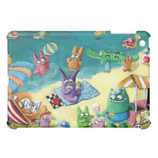 Monsters on the Beach iPad Mini Cover