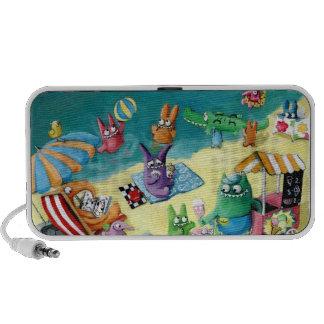 Monsters on the Beach Portable Speaker
