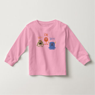 Monsters Trick-or-Treat Toddler Long Sleeve Tee