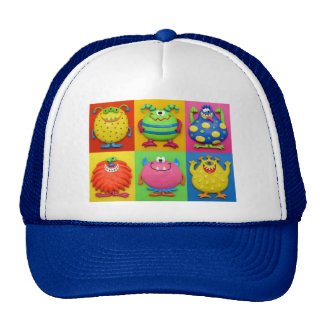 Monsters Trucker Hat