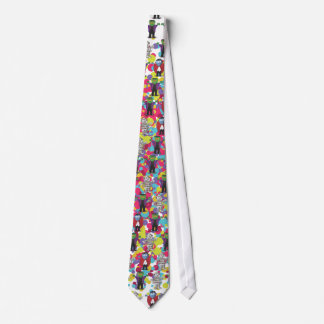 Monsters & Vampires Tie
