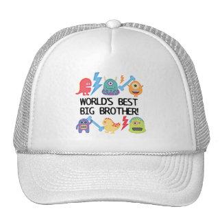 Monsters World's Best Big Brother Trucker Hat
