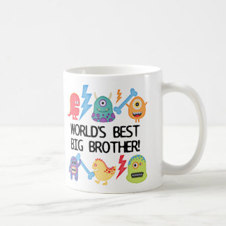 Monsters World's Best Big Brother Coffee Mug