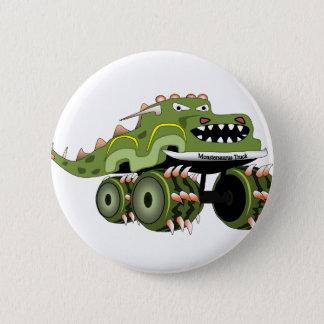 Monstersaurus Truck 6 Cm Round Badge