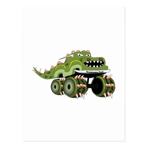 Monstersaurus Truck Postcards