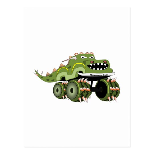 Monstersaurus Truck Postcard